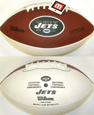New York Jets Official Wilson NFL Full Size Signature Model Football