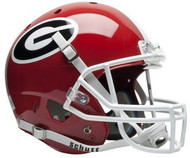 Georgia Bulldogs Schutt NCAA College Football Team Full Size Replica XP Helmet