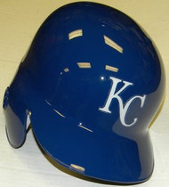 Kansas City Royals Rawlings Full Size Authentic Left Handed Batting Helmet - Right Flap Regular