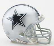 Dallas Cowboys NFL Team Logo Riddell 3-Pack Mini Helmet Set