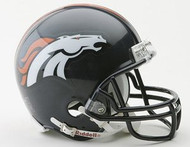 Denver Broncos NFL Team Logo Riddell 3-Pack Mini Helmet Set