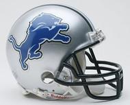 Detroit Lions NFL Team Logo Riddell 3-Pack Mini Helmet Set