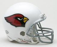 Arizona Cardinals NFL Team Logo Riddell 3-Pack Mini Helmet Set