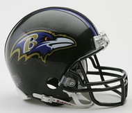Baltimore Ravens NFL Team Logo Riddell 3-Pack Mini Helmet Set