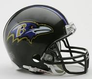 Baltimore Ravens NFL Team Logo Riddell 3-Pack Mini Helmet Set