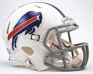 Buffalo Bills NFL Team Logo Riddell 3-Pack Revolution SPEED Mini Helmet Set