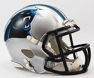 Carolina Panthers NFL Team Logo Riddell 3-Pack Revolution SPEED Mini Helmet Set