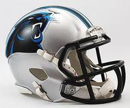 Carolina Panthers NFL Team Logo Riddell 3-Pack Revolution SPEED Mini Helmet Set