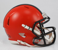 Cleveland Browns 2015 NFL Team Logo Riddell 3-Pack Revolution SPEED Mini Helmet Set