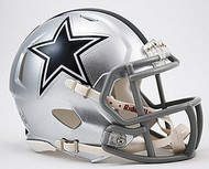 Dallas Cowboys NFL Team Logo Riddell 3-Pack Revolution SPEED Mini Helmet Set