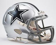 Dallas Cowboys NFL Team Logo Riddell 3-Pack Revolution SPEED Mini Helmet Set