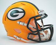 Green Bay Packers NFL Team Logo Riddell 3-Pack Revolution SPEED Mini Helmet Set