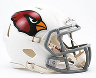 Arizona Cardinals NFL Team Logo Riddell 6-Pack Revolution SPEED Mini Helmet Set