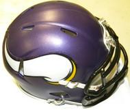 Minnesota Vikings NFL Team Logo Riddell 6-Pack Revolution SPEED Mini Helmet Set