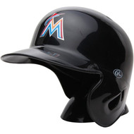 "Miami Marlins Rawlings ""On Field"" Mini replica batting helmet"