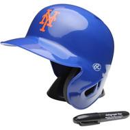 """New York Mets Rawlings """"On Field"""" Mini replica batting helmet"""
