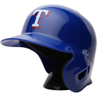 "Texas Rangers Rawlings ""On Field"" Mini replica batting helmet"