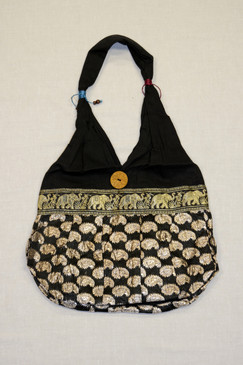 Najdi Purse Paisley, Black