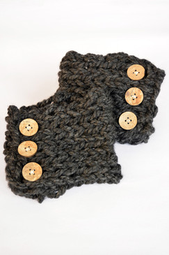 Winter Boot Cuffs - Slate