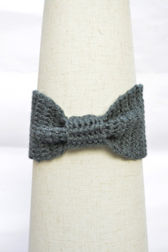 Knotted Crochet Headband
