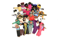 Mini Nation Doll Ornaments