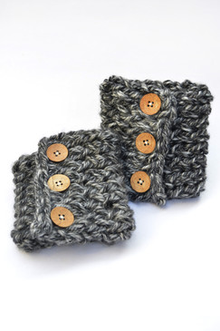 Winter Boot Cuffs - Glacier