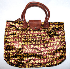 Foldable Destinations Tote