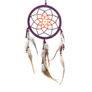 Beaded Flower Dreamcatcher