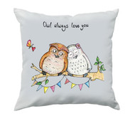 Owl Always Love You Cushion (Large)