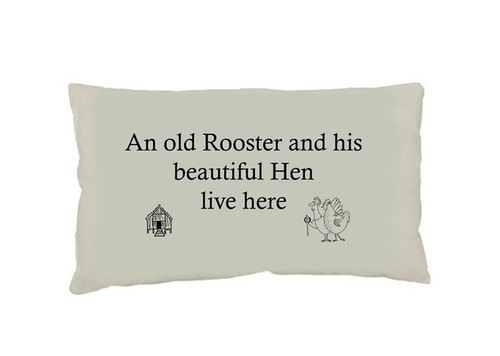 Old Rooster Cushion (Small)