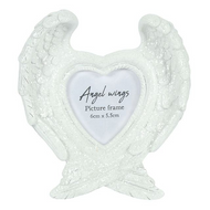 Glitter Angel Wings Photo Frame