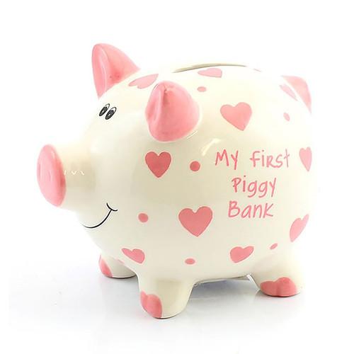 My First Piggy Bank (Pink)