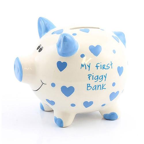 My First Piggy Bank (Blue)