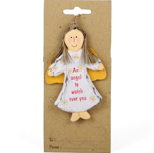 An Angel to Watch Over You Hanging Decoration