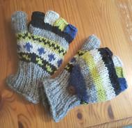 Fair Trade Flap Gloves - Design 2