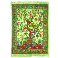 Tree of Life Wall Hanging - Green