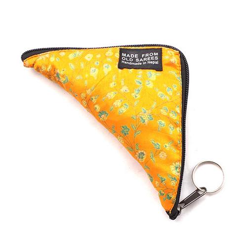 Recycled Sari Folding Bag