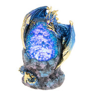 Crystal Cave Blue LED Dragon (Small)