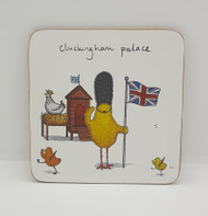 Cluckingham Palace Drinks Coaster
