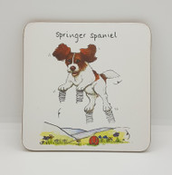 Springer Spaniel Drinks Coaster