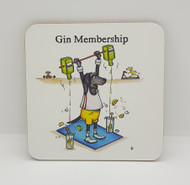 Gin Membership Drinks Coaster