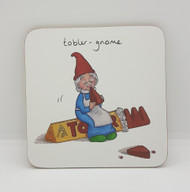 Tobler-gnome Drinks Coaster