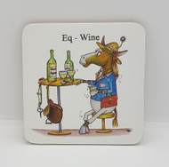 Eq-Wine Drinks Coaster