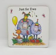 Just for Ewe Drinks Coaster