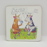 Mad Cow Drinks Coaster