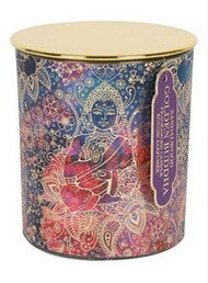 Large Lidded Golden Buddha Sandalwood Candle