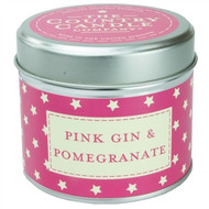 Pink Gin and Pomegranate Tinned Candle