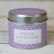 White Lavender Tinned Candle