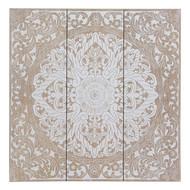 Mandala Wooden Wall Plaque