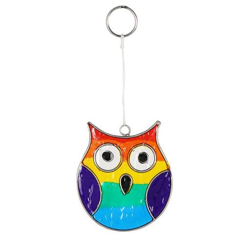 Small Owl Suncatcher